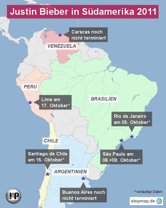StepMap-Karte