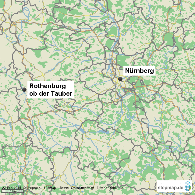 Mittelfranken Karte.Stepmap 1 1 1 3 5 2 Mittelfranken Landkarte Für Welt