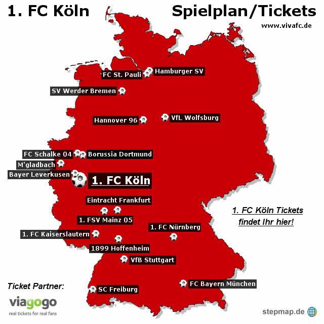 1 fc koln ticket: