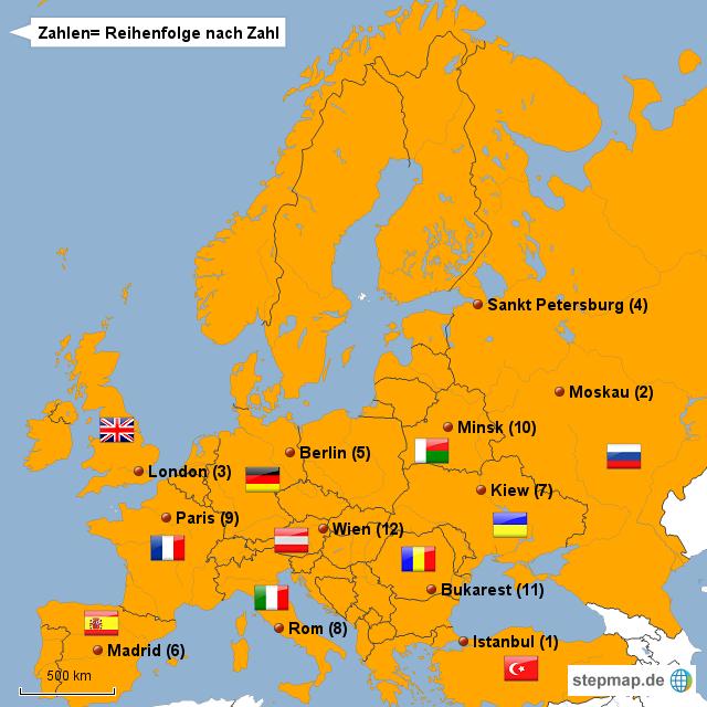 große städte europa