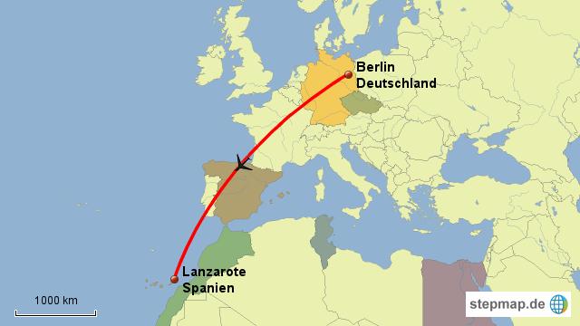 lanzarote weltkarte StepMap   2014 Lanzarote   Landkarte für Deutschland lanzarote weltkarte