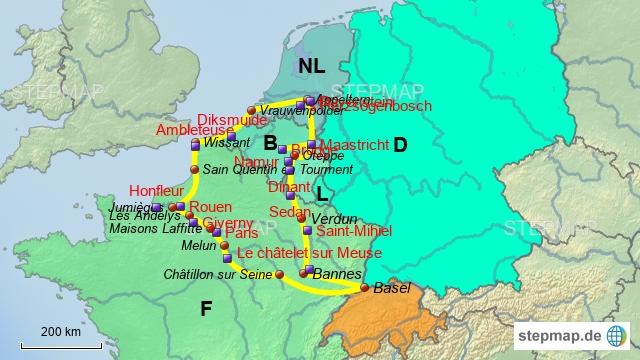 Karte Nl