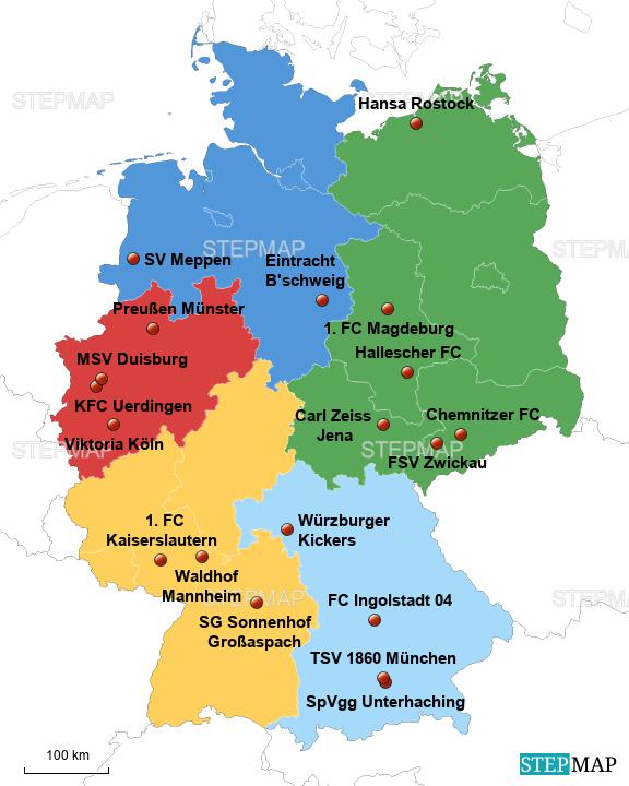 3. Liga Vereine