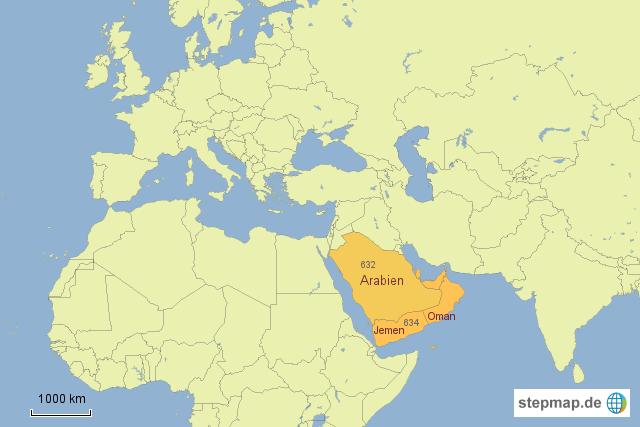 Karte Oman Kostenlos.Stepmap 634 Jemen Oman Landkarte Fur Deutschland