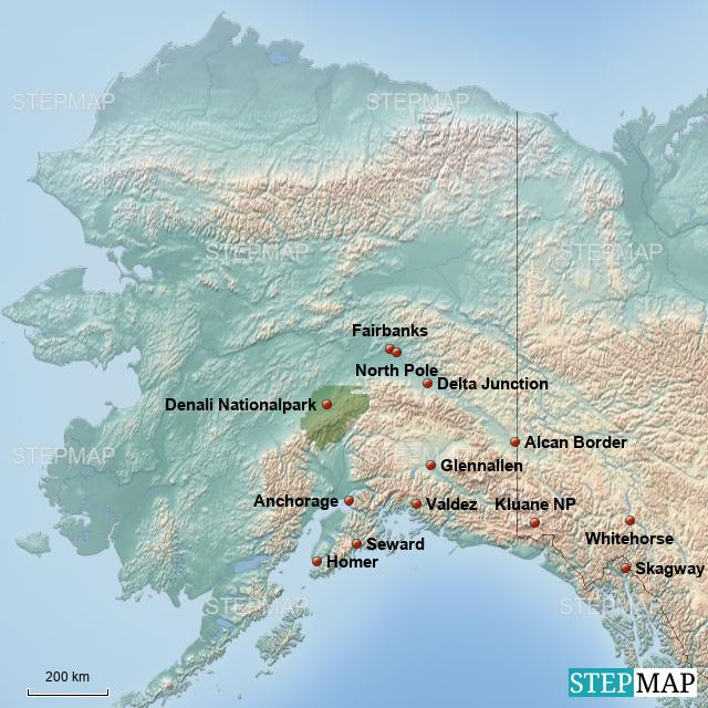 StepMap - Alaska