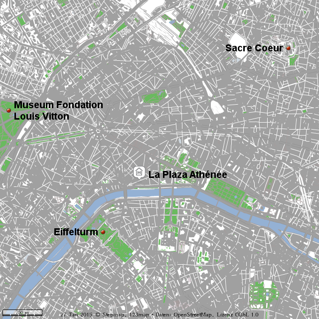 Karte Paris Eiffelturm.Stepmap Am Valentinstag In Paris Landkarte Fur Welt