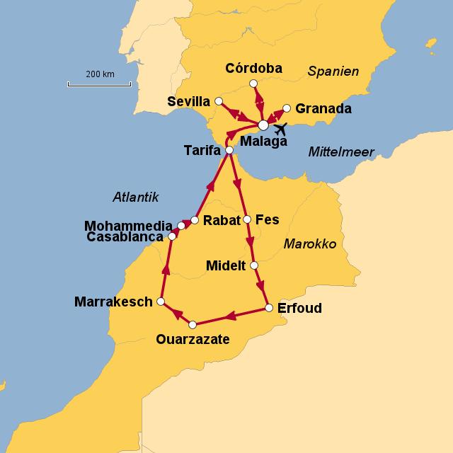 Andalusien Karte Spanien.Stepmap Andalusien Marokko Rr Landkarte Für Spanien