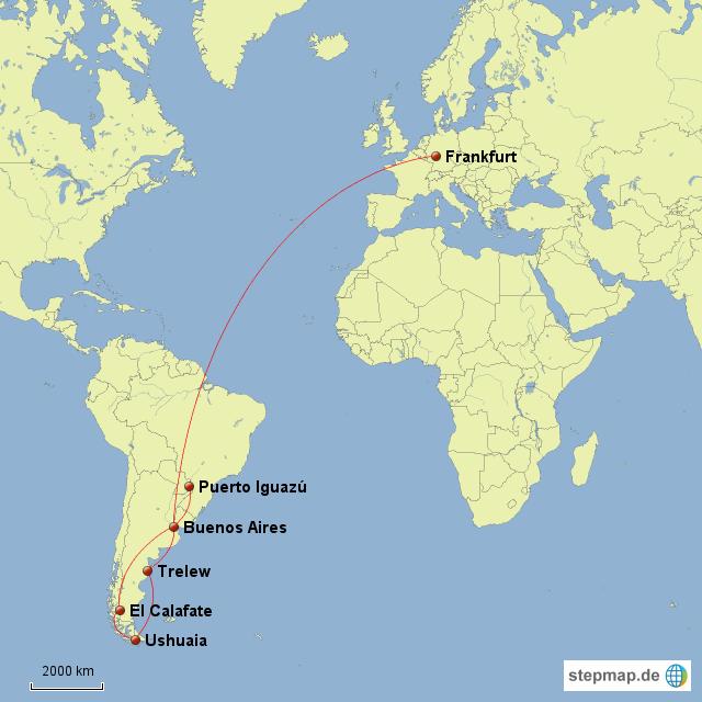 argentinien karte StepMap   Argentinien   Karte   Landkarte für Deutschland argentinien karte