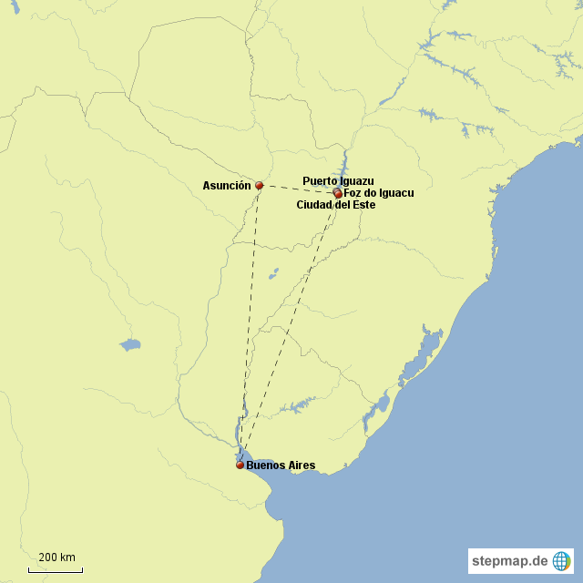 Argentinien Paraguay