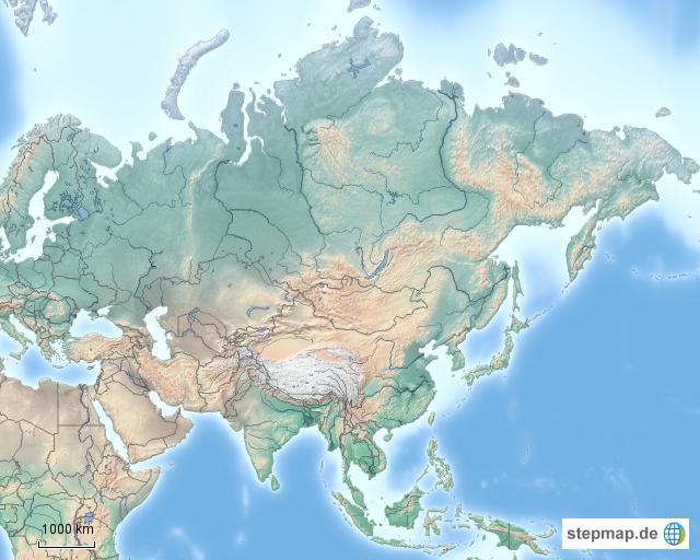 Asien Im überblick