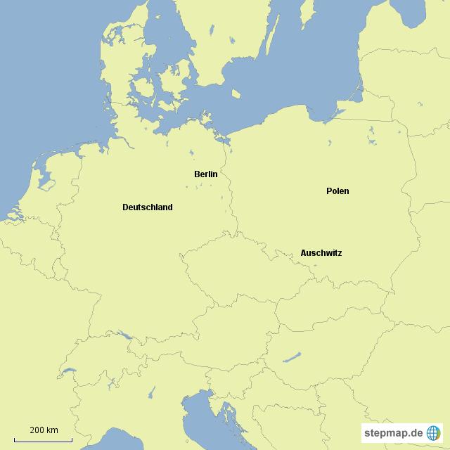 Auschwitz Karte.Stepmap Auschwitz Berlin Landkarte Für Deutschland