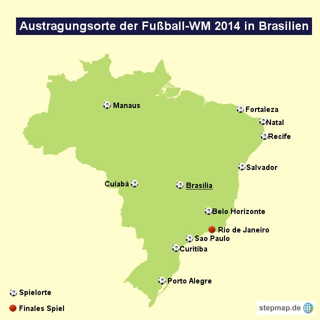 Fußball Wm Austragungsorte