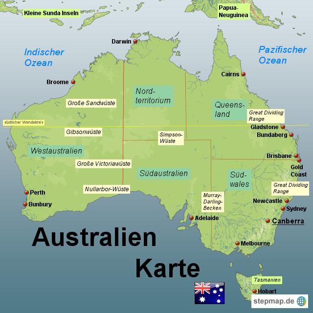 australien karte world map weltkarte peta dunia mapa. Black Bedroom Furniture Sets. Home Design Ideas