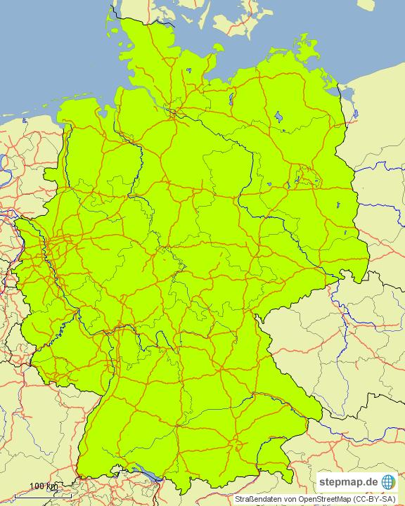 autobahnen deutschland grobe bersicht von viviennarjes landkarte f r deutschland. Black Bedroom Furniture Sets. Home Design Ideas