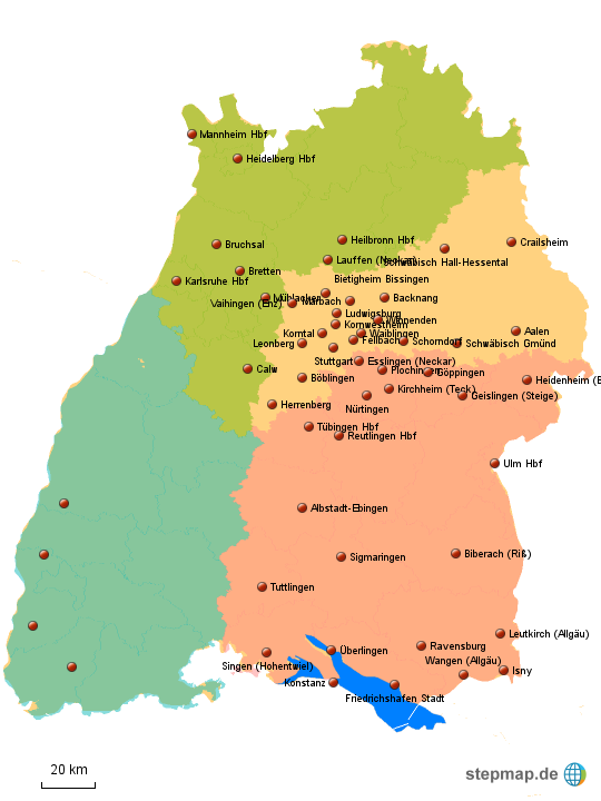 Baden Baden Karte Deutschland