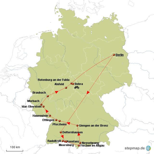 Karte Baden Württemberg Rheinland Pfalz.Stepmap Baden Württemberg Rheinland Pfalz Hessen Landkarte Für