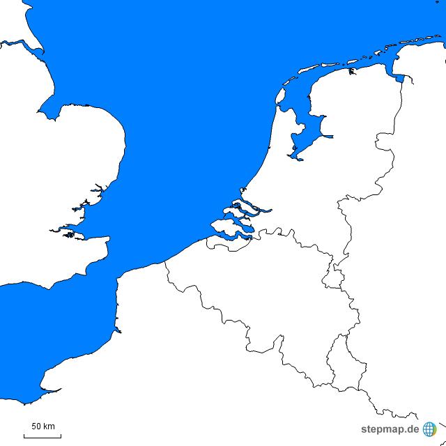 stepmap benelux staaten landkarte f r europa. Black Bedroom Furniture Sets. Home Design Ideas