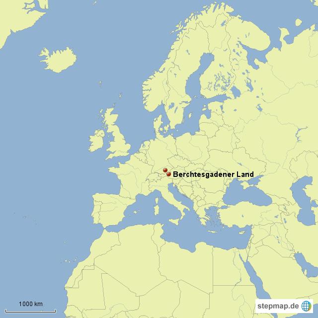 Berchtesgadener Land Karte.Stepmap Berchtesgadener Land Landkarte Für Deutschland
