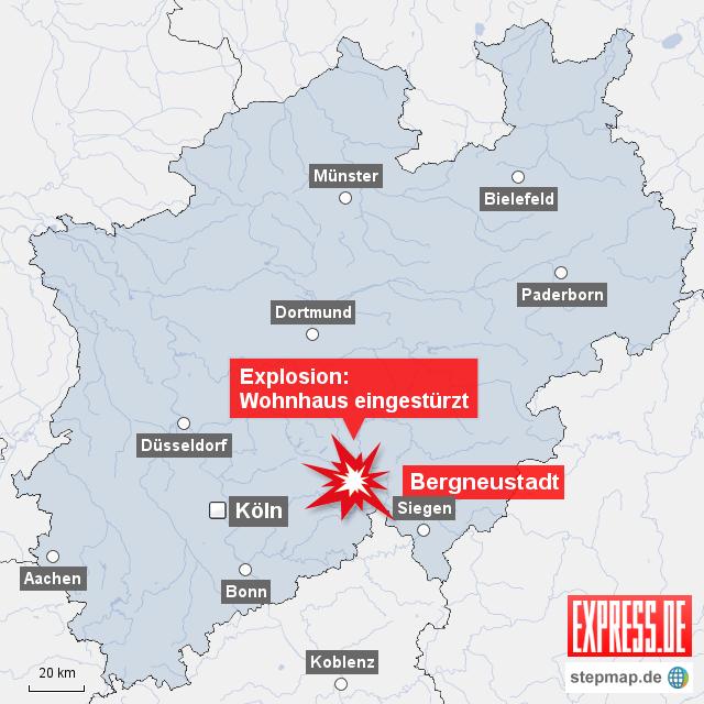 Stepmap Bergneustadt Bei Gummersbach Wohnhaus Explodiert