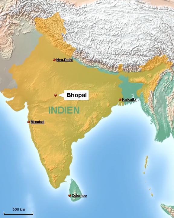 Bhopal Indien