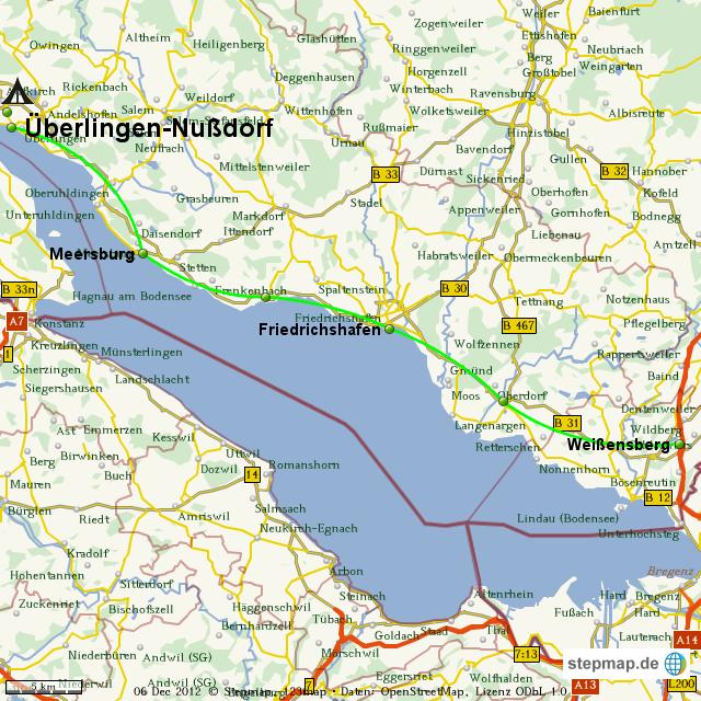 Stepmap Bodensee Landkarte Fur Welt