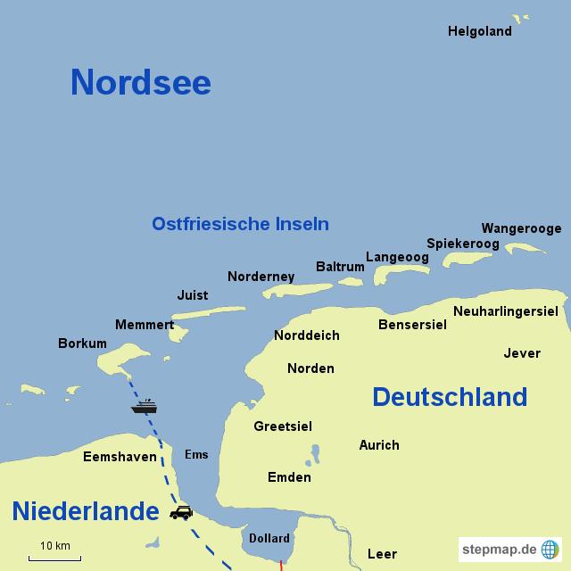 borkum karte StepMap   Borkum   Landkarte für Deutschland