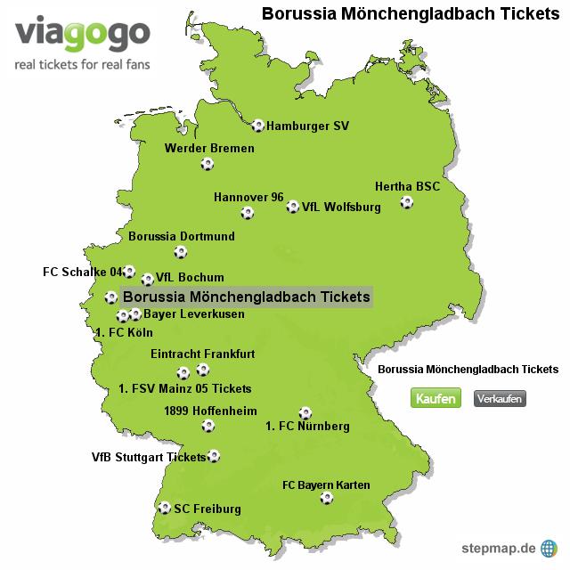 Karten Mönchengladbach