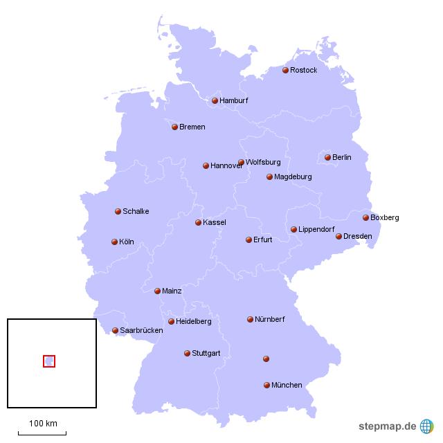 braunkohlegebiete in deutschland karte StepMap   Braunkohle in Deutschland   Landkarte für Deutschland