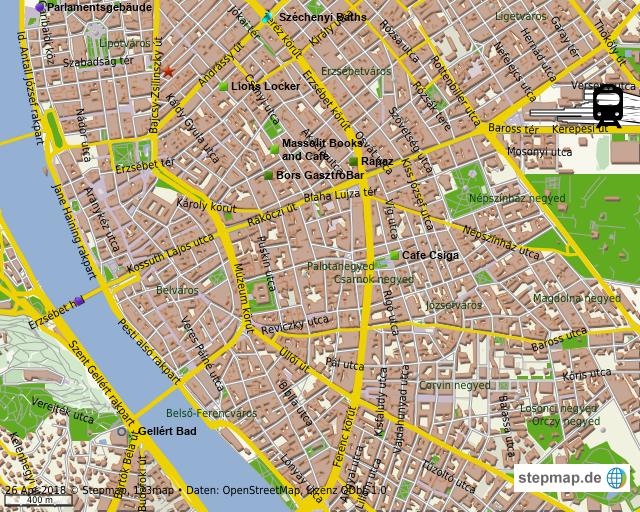 stepmap budapest essen landkarte f r welt. Black Bedroom Furniture Sets. Home Design Ideas