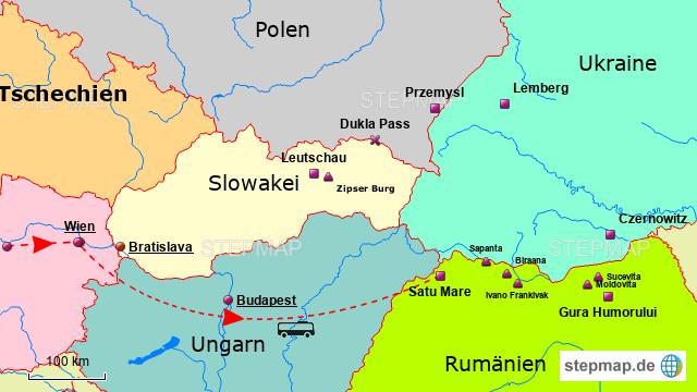 Stepmap Bukowina Galizien Landkarte Fur Rumanien