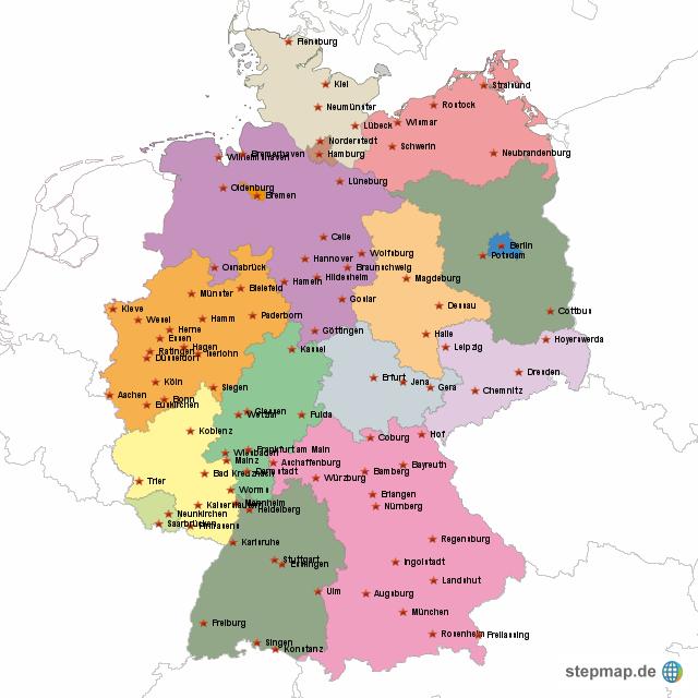 Bundeslandgrenzen