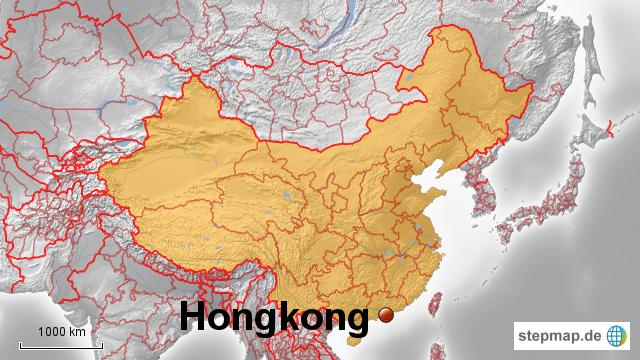 Karte China Hong Kong.Stepmap China Hongkong Landkarte Für China