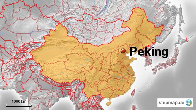 peking karte china StepMap   China: Peking   Landkarte für China