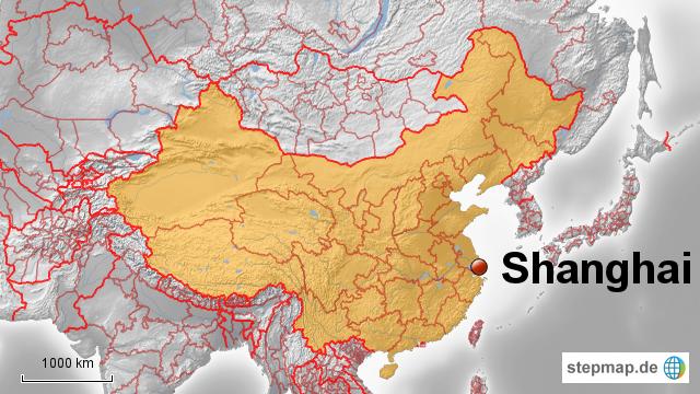 shanghai karte china StepMap   China: Shanghai   Landkarte für China