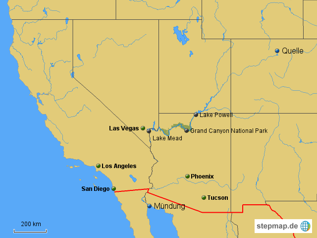 Colorado Karte