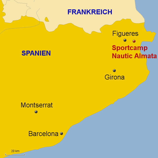 Karte Costa Brava Spanien.Stepmap Costa Brava Girona Sport 2016 Landkarte Fur