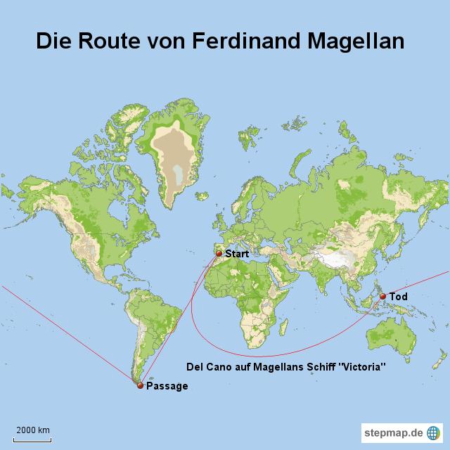 StepMap - DC Map 5 - Landkarte für Welt