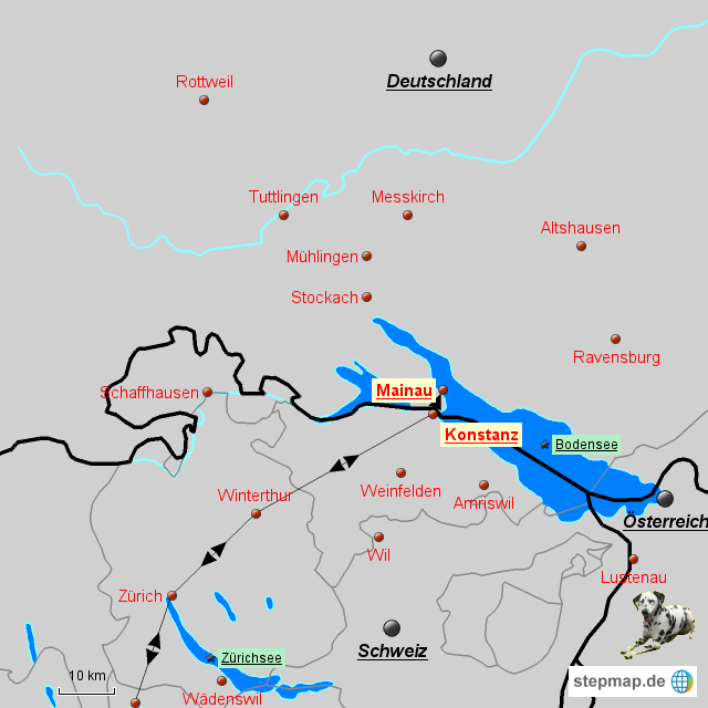 Insel Mainau Karte.Stepmap De Konstanz Insel Mainau Landkarte Für Deutschland