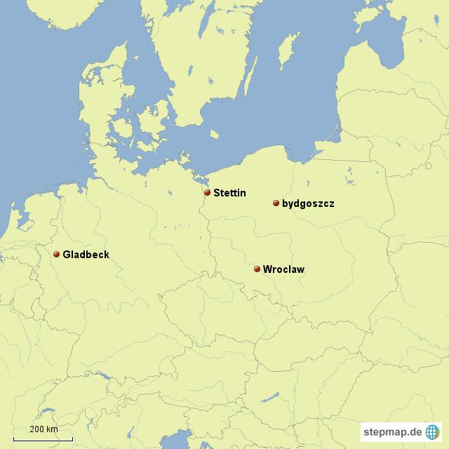 Polen Karte.Stepmap De Polen Karte Landkarte Für Deutschland
