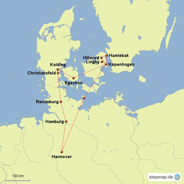 deutschland dänemark karte StepMap   Dänemark   Landkarte für Deutschland deutschland dänemark karte