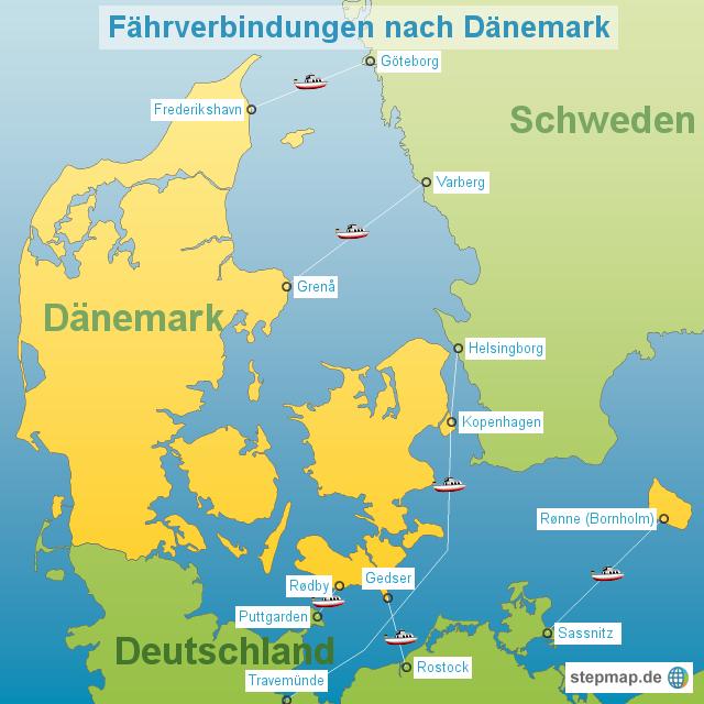 Deutschland Dänemark Karte