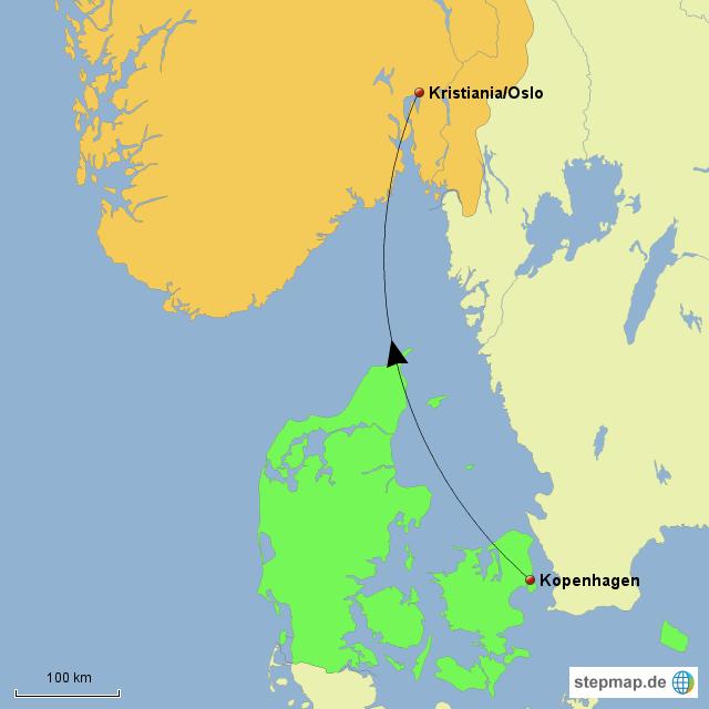 Karte Norwegen Dänemark.Stepmap Dänemark Norwegen Landkarte Für Deutschland
