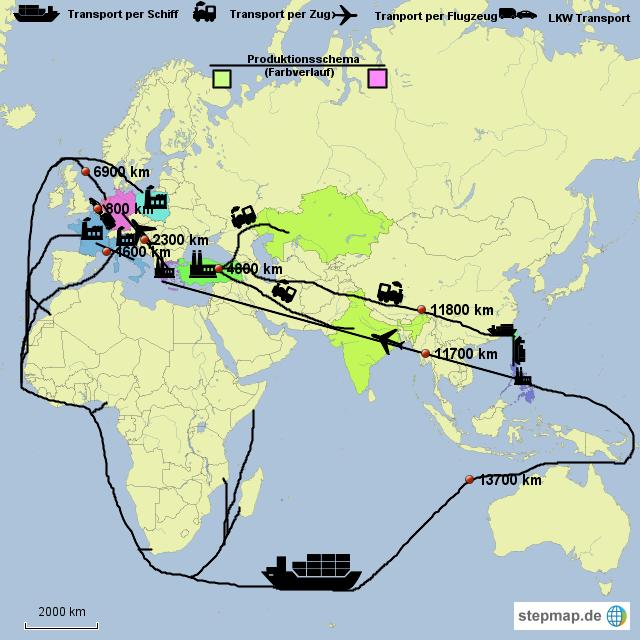 stepmap - der weg der jeans _michal - landkarte für