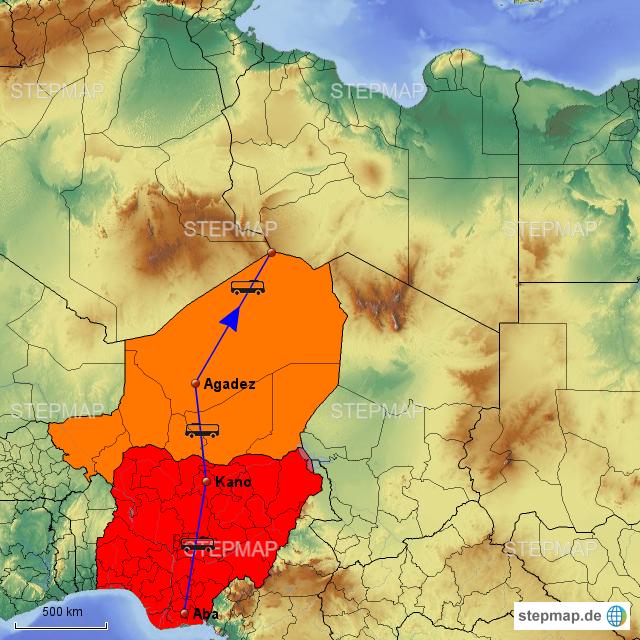 Landkarte Deutsch.Stepmap Deutsch Landkarte Fur Afrika