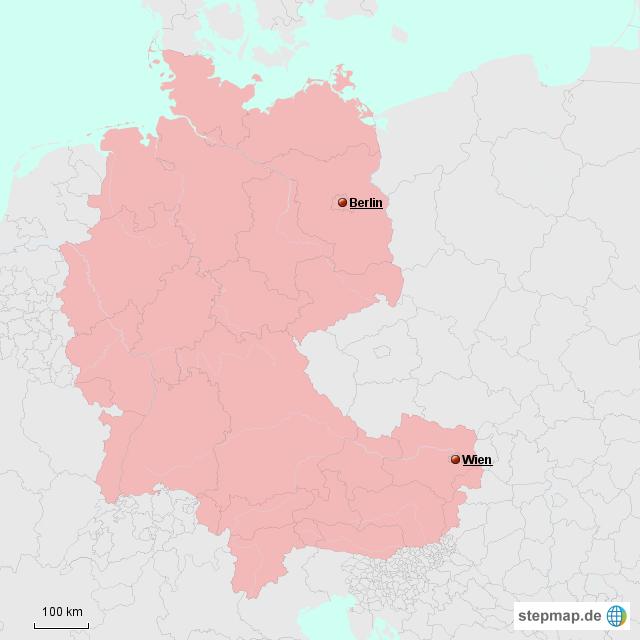 Stepmap Deutsche Bundesrepublik Landkarte Für Deutschland
