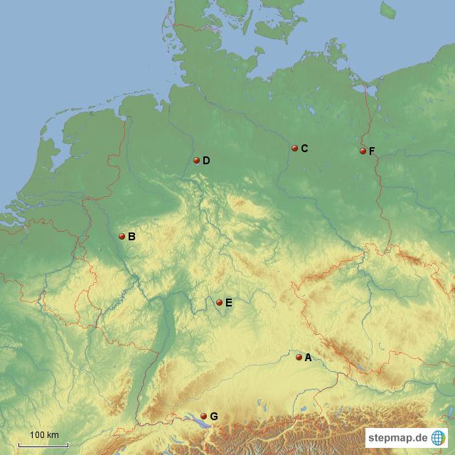 Gebirge deutschland