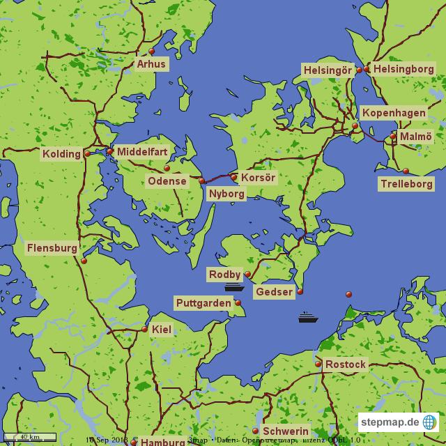 Karte Norwegen Dänemark.Stepmap Deutschland Dänemark Schweden Landkarte Für Welt