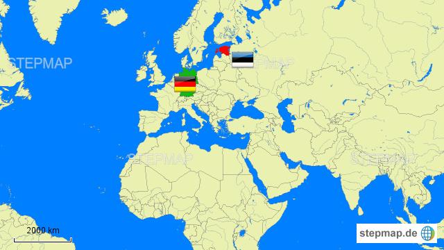 Deutschland Estland Rote Karte