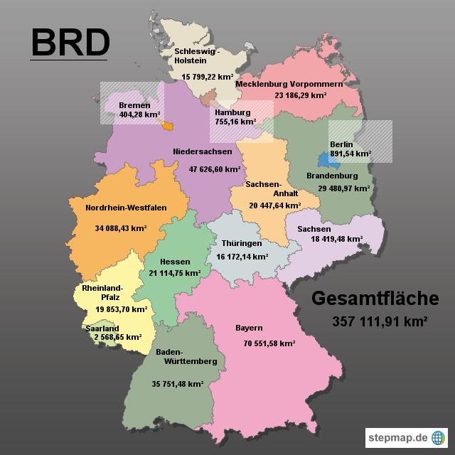 Größe Deutschland