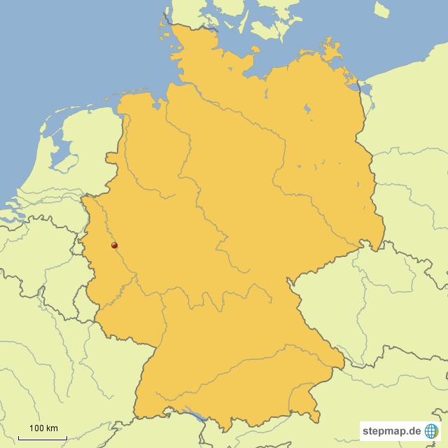 Köln Karte Deutschland.Stepmap Deutschland Köln Landkarte Für Deutschland